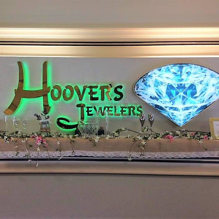 Hoovers Jewelers Display